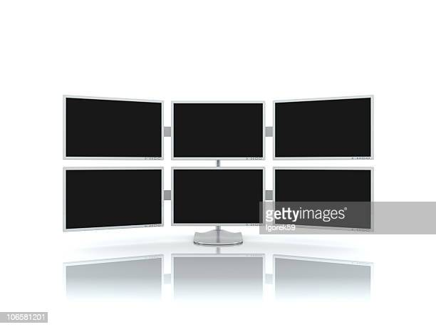 The multiscreen monitor