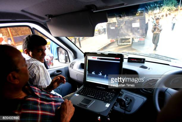 the Mumbai Bomb Squad on Sunday displayed a mercedes car that would help them detect a bomb the car that costs Rs seven crores was demonstarted at...