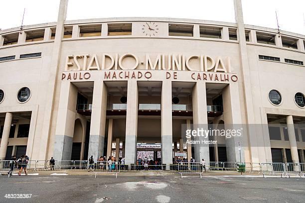 The Municipal Estadio in Sao Paulo Brazil.