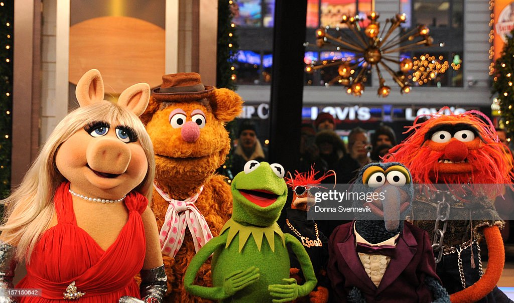 AMERICA - The Muppets take over 'Good Morning America,' 11/27/12, airing on the ABC Television Network. (Photo by Donna Svennevik/ABC via Getty Images) MISS
