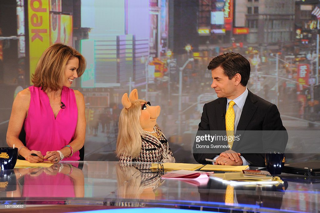 AMERICA - The Muppets take over 'Good Morning America,' 11/27/12, airing on the ABC Television Network. (Photo by Donna Svennevik/ABC via Getty Images) AMY
