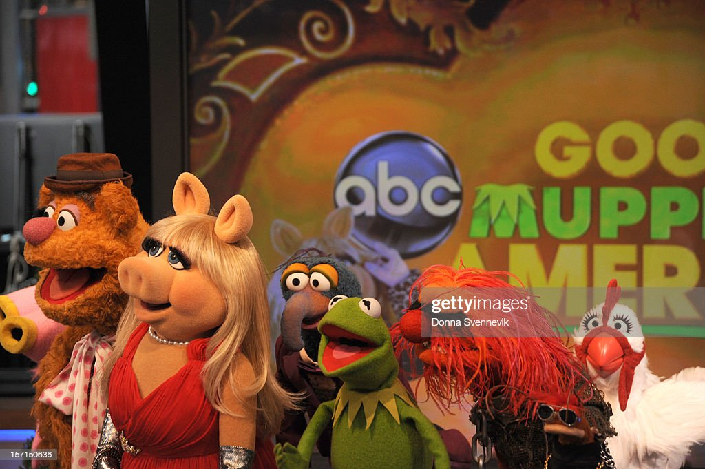 AMERICA - The Muppets take over 'Good Morning America,' 11/27/12, airing on the ABC Television Network. (Photo by Donna Svennevik/ABC via Getty Images) FOZZIE