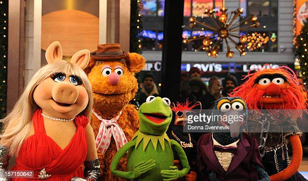 AMERICA The Muppets take over 'Good Morning America' 11/27/12 airing on the ABC Television Network MISS