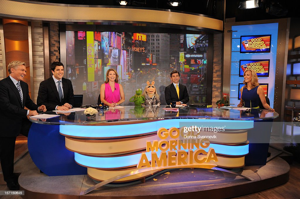 AMERICA - The Muppets take over 'Good Morning America,' 11/27/12, airing on the ABC Television Network. (Photo by Donna Svennevik/ABC via Getty Images) SAM
