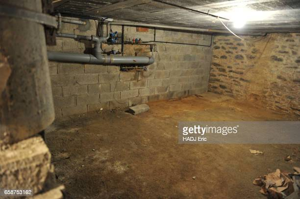 the murder of the family Troadec by the brother in law The cellar of the building in Brest bought by Pierre Troadec in 1976 and where he would have...
