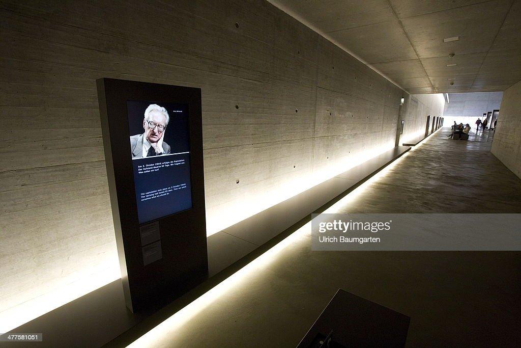The Museum in the Memorial Concentration Camp Bergen-Belsen, on March 05, 2014 in Bergen-Belsen, Germany.