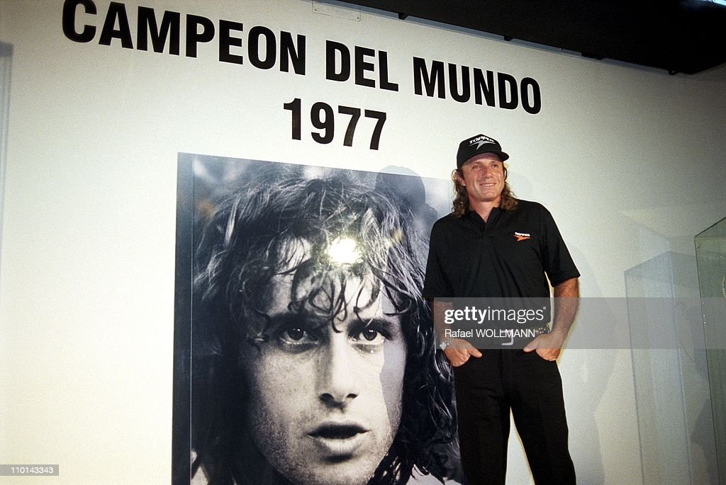 The museum of <a gi-track='captionPersonalityLinkClicked' href=/galleries/search?phrase=Guillermo+Vilas&family=editorial&specificpeople=605489 ng-click='$event.stopPropagation()'>Guillermo Vilas</a> in Mar del Plata, Argentina on January 16, 1998.