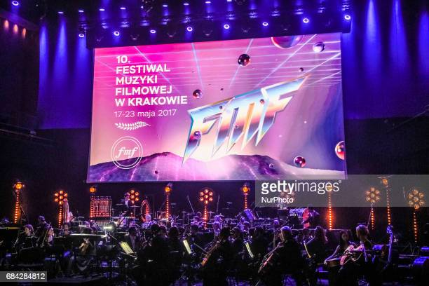 'The Music of Abel Korzeniowski' concert in Auditorium Hall of ICE Congress Centre during 10 edition of the annual Film Music Festival in Krakow...