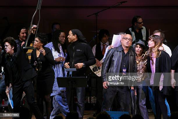 'The Music of the Who' at Carnegie Hall on Tuesday night March 2 2010This imageFrom left Willie Nile Bettye La Vette Will Callhoun Doug Wimbish Corey...