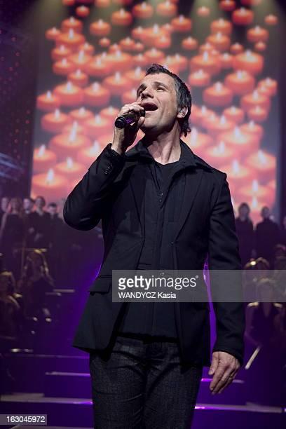 The Musical 'NotreDame De Paris' Concert In Ukraine Kiev 8 décembre 2010 le spectacle musical 'NOTREDAME DE PARIS' de Luc Plamondon orchestré par le...