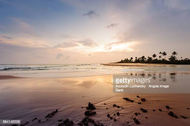 The Mussulo Island and the bay near Luanda