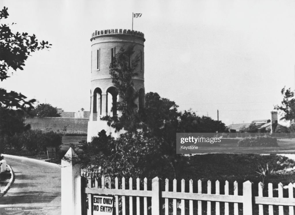 The Mustapha Pasha Barracks in Alexandria Egypt January 1947 British troops are to be evacuated from the barracks and from those in Cairo in February...