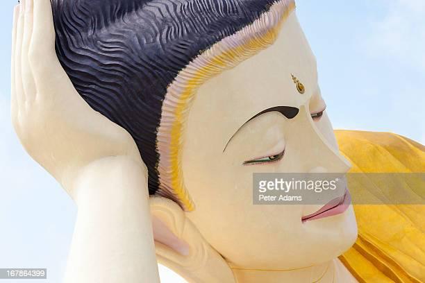 The Mya Tha Lyaung Reclining Buddha, Bago