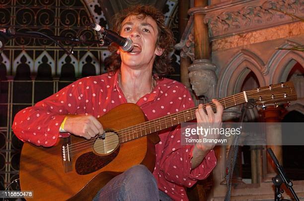 The Mystery Jets during Syd Barrett Tribute Concert with The Mystery Jets September 18 2006 in London Great Britain