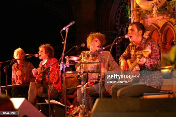 The Mystery Jets during Syd Barrett Tribute Concert with The Mystery Jets September 18 2006 at Union Chapel in London Great Britain