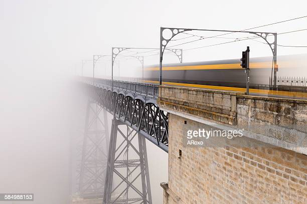 The Mystery Train a foggy morning