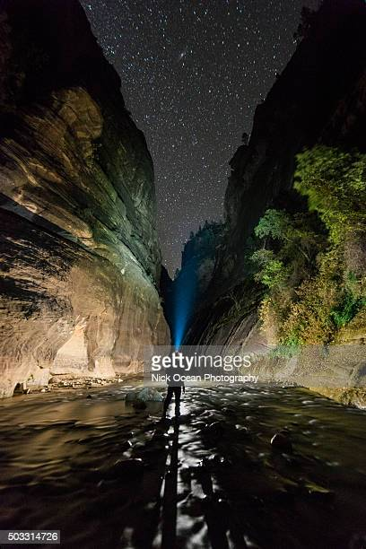 The Narrows at Night, Zion National Park