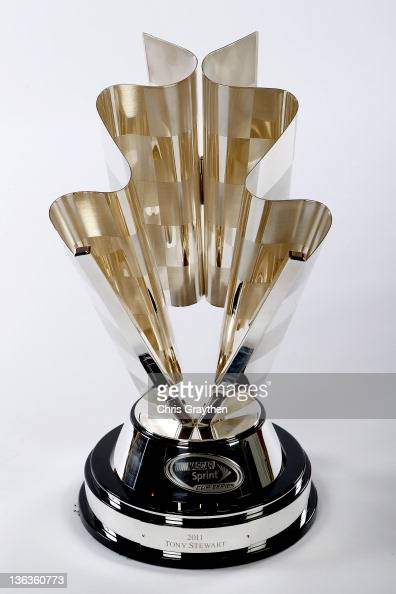 The NASCAR Sprint Cup Series trophy during the NASCAR Sprint Cup Series Champion's Week Awards Ceremony at Wynn Las Vegas on December 2 2011 in Las...