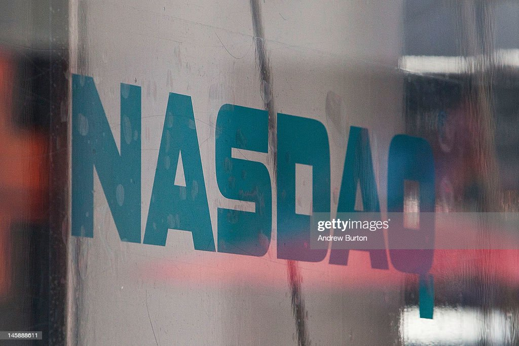 The Nasdaq exchange is seen in Time Square on June 7, 2012 in New York City. The Nasdaq announced that they plan to set aside $40 million to handle legal proceedings surrounding the recent Facebook IPO.