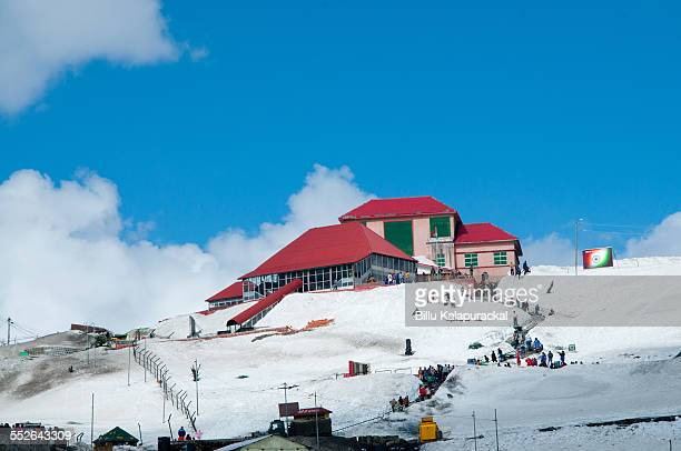 The Nathulla Pass Is one of three open trading border posts between China and India The pass is 4310m above sea level