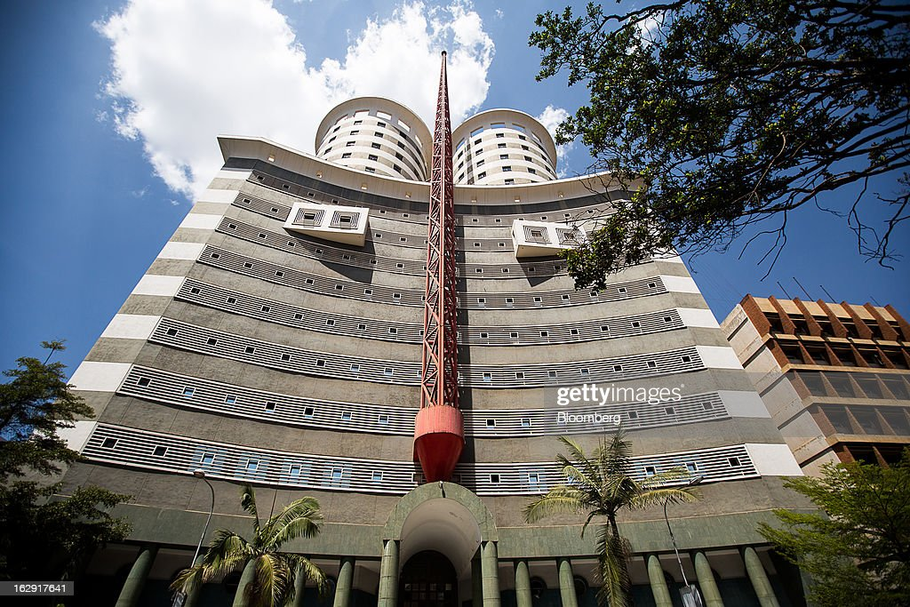 The Nation Media building which houses the Nairobi Stock Exchange (NSE) stands in Nairobi, Kenya, on Friday, March 1, 2013. Next week's presidential vote will be the first since disputed elections in 2007 triggered ethnic fighting in which more than 1,100 people died and another 350,000 fled their homes. Photographer: Trevor Snapp/Bloomberg via Getty Images