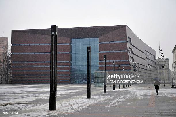 The National Forum of Music is pictured in Wroclaw Poland on January 15 2016 that is the ambition of the Polish city of Wroclaw former German Breslau...