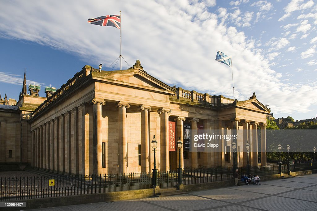 The National Gallery, Edinburgh, Scotland : Stock Photo