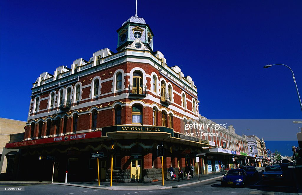 The National Hotel in Fremantle, Western Australia : Stock Photo
