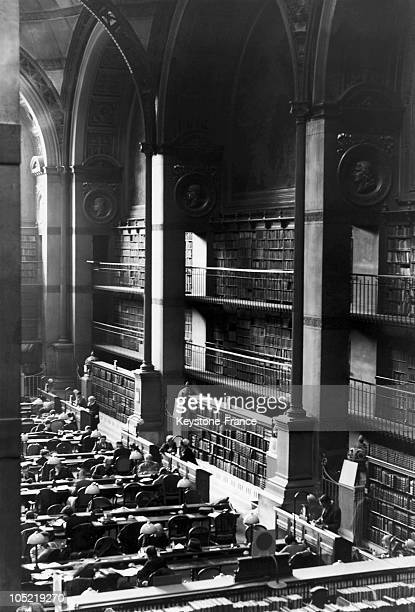 The National Library In Paris 1936