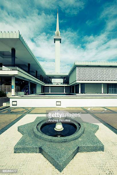 The National Mosque in Kuala Lumpur Malaysia