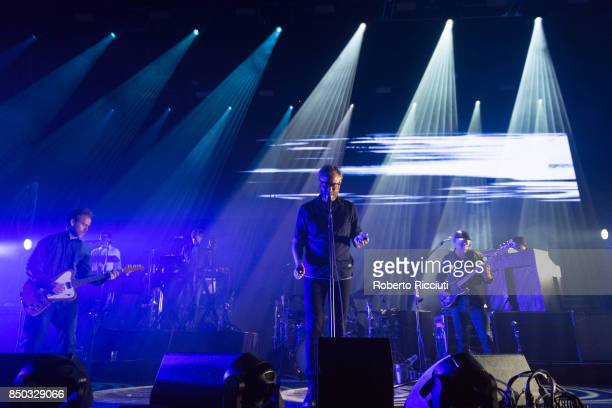The National perform live on stage at Usher Hall on September 20 2017 in Edinburgh Scotland