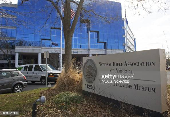 The National Rifle Association headquarters is seen March 14 in Fairfax Virginia AFP Photo/Paul J Richards