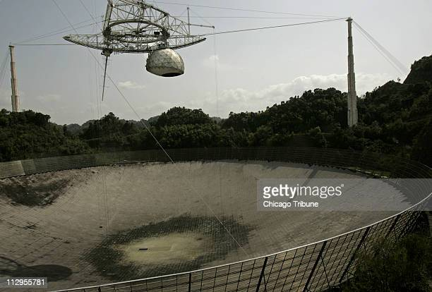 The National Science Foundation's Arecibo Observatory home of the world's largest single dish radio telescope pictured March 9 is facing closure...