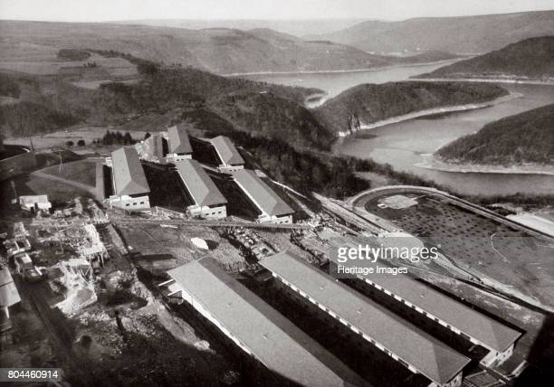 The National Socialist Training College at Vogelsang in the Eifel Germany 1936 Birdseye view of the training college for aspiring Nazi leaders From...