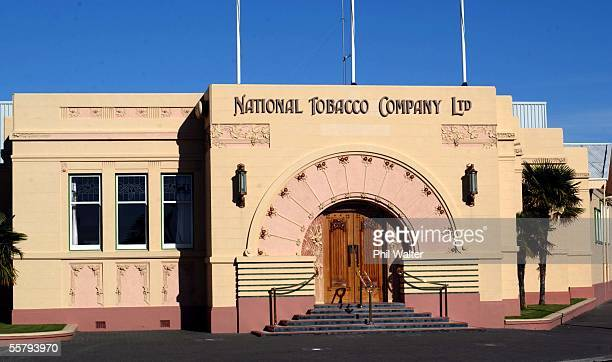 The National Tobacco Company Ltd Art Deco style building in Napier