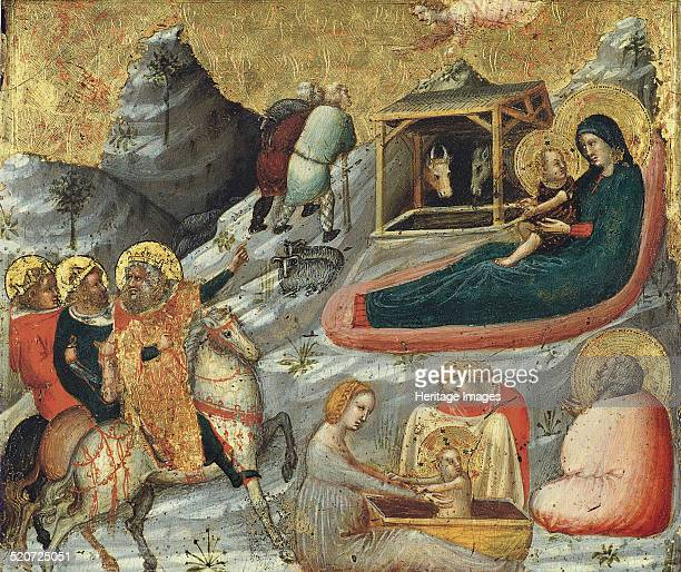 The Nativity and other Episodes from the Childhood of Christ Found in the collection of ThyssenBornemisza Collections