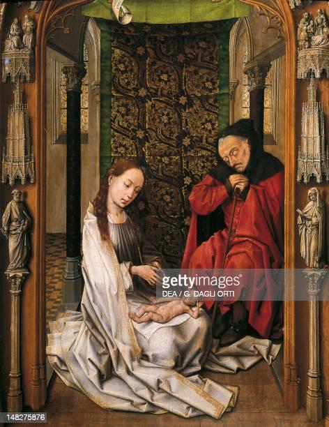 The Nativity by Rogier van der Weyden Granada Museo De La Capilla Real