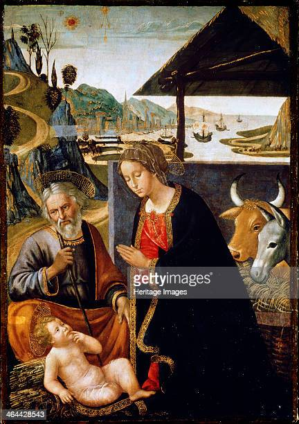 'The Nativity of Christ' late 15th or early 16th century Found in the collection of the State A Pushkin Museum of Fine Arts Moscow