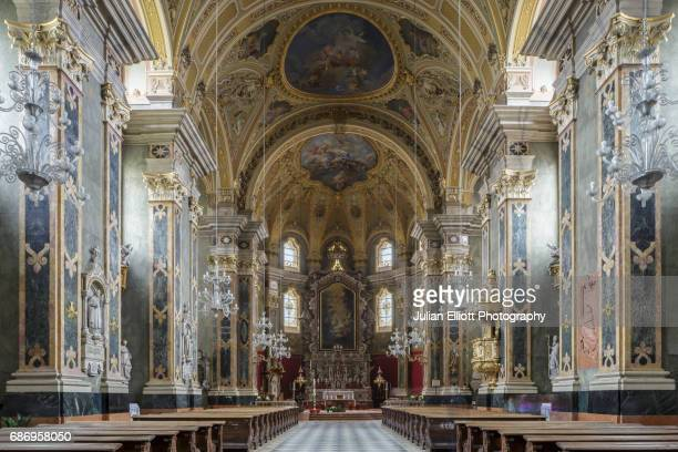 The nave of Brixen cathedral.