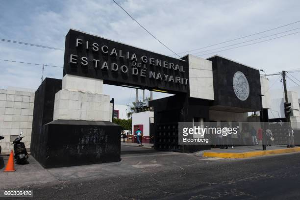 The Nayarit State Attorney Generals headquarters stands in Tepic Mexico on Wednesday March 29 2017 On Wednesday Nayarit Attorney General Edgar Veytia...