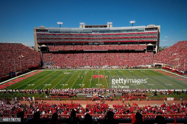 The Nebraska Cornhuskers play the McNeese State Cowboys at Memorial Stadium on September 6 2014 in Lincoln Nebraska Nebraska defeated McNeese State...
