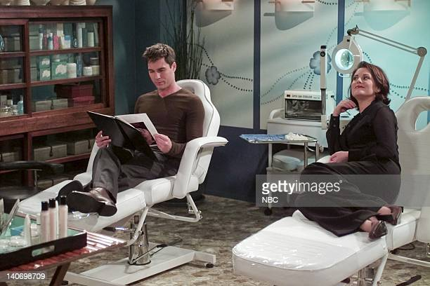 WILL GRACE 'The Needle and the Omelet's Done' Episode 7 Pictured Eric McCormack as Will Truman Megan Mullally as Karen Walker Photo by NBCU Photo Bank