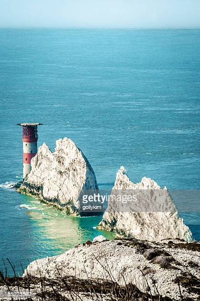 Gli aghi, Isola di Wight, Inghilterra