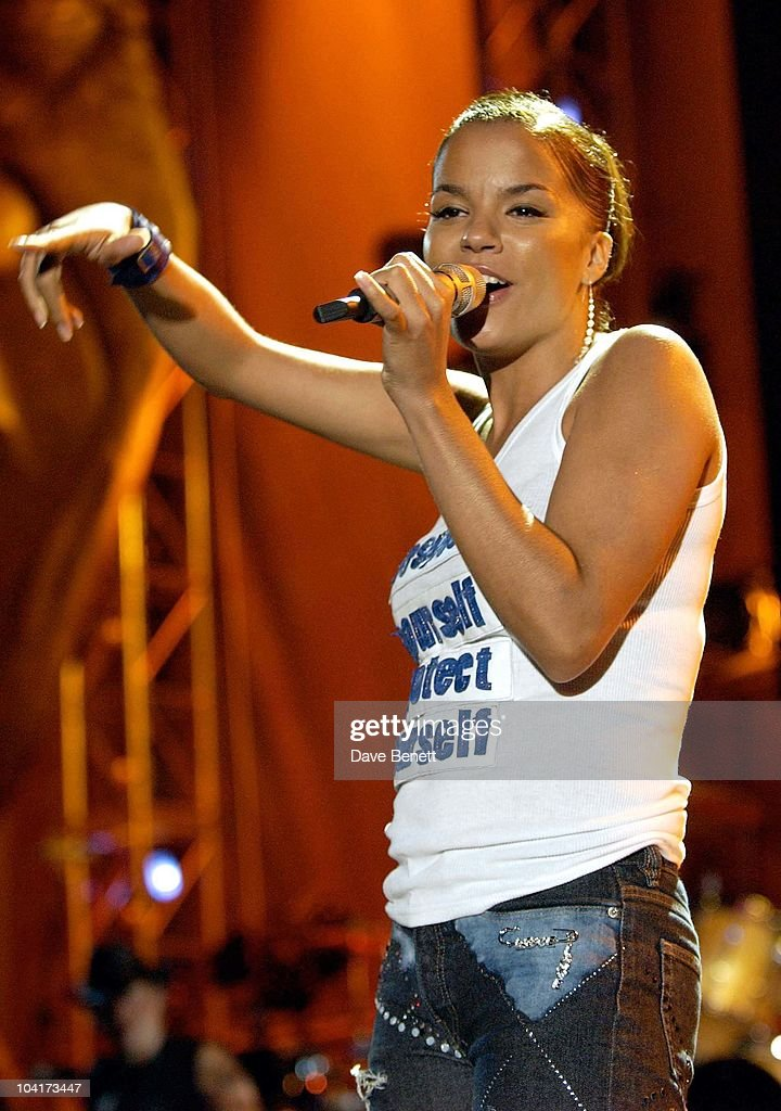 The Nelson Mandela Foundation's 46664 ' Give 1 Minute To Aids' Concert From The Greenpoint Stadium In Cape Town Africa, Ms Dynamite