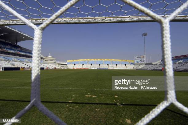 The Neo GSP Stadium Nicosia Cyprus Picture date Saturday October 13 2007 See PA story SOCCER Wales Photo credit should read Rebecca Naden/PA Wire...