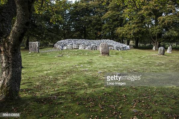 The neolithic burial chambers known as Balnuaran of Clava