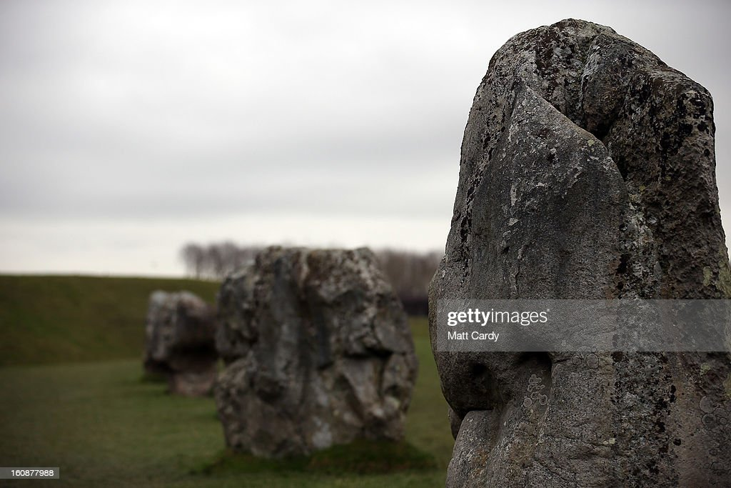 The Neolithic stones at Avebury are seen on February 7, 2013 in Wiltshire, England. A leading travel magazine has recently named the collection of stones - thought to have been constructed around 2600BC and the largest stone circle in Europe, as the second best heritage site in the world. The Wiltshire world heritage site has been placed ahead of much more recognisable sites including the Valley of the Kings in Egypt, Taj Mahal in India and the Forbidden City in China.