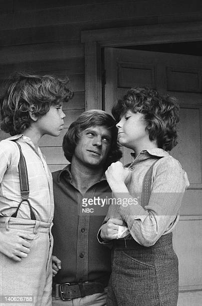 PRAIRIE 'The Nephews' Episode 14 Aired 1/19/81 Pictured Ham Larson as Myron Wilder Dean Butler as Almanzo James Wilder Rossie Harris as Rupert Wilder...