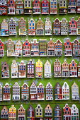 The Netherlands, Amsterdam, model houses