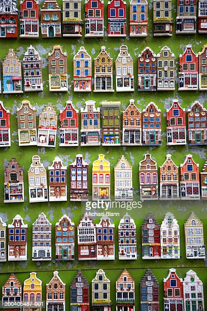 The Netherlands, Amsterdam, model houses